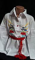Блузка детская с вышивкой.