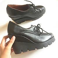 Стильные женские ботиночки Альба из натуральной турецкой кожи от Troisrois