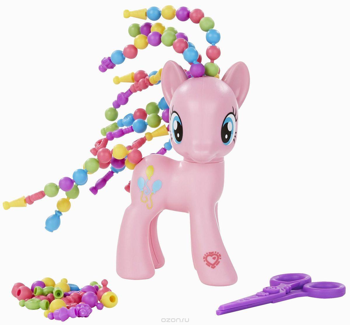 My Little Pony Игровой набор Пони с разными прическами Пинки Пай Explore Equestria Cutie Twisty-Do Pinkie Pie