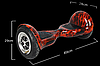 Гироскутер Smart Balance Wheel U-8 10 дюймов Bluetooth, фото 2