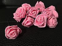 Роза латексная ярко-розовая