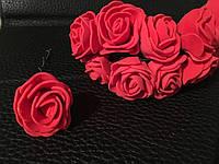 Роза латексная красная