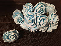 Роза латексная голубая