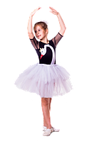 Лебедь новогодний костюм для девочки