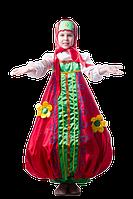 Матрешка национальный карнавальный костюм для девочки