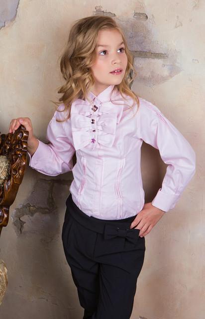 Рубашки, блузки для девочек