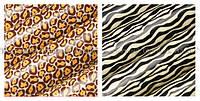 Трансферы — переводные листы для шоколада — 81532 Зебра и Леопард Modecor, фото 1