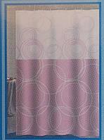 Занавеска в ванную Хорс-м средняя 180 см х 180 см