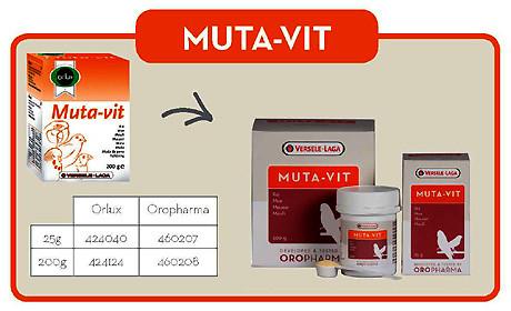Витамины для попугаев и птиц Oropharma Muta -Vit (Versele Laga)