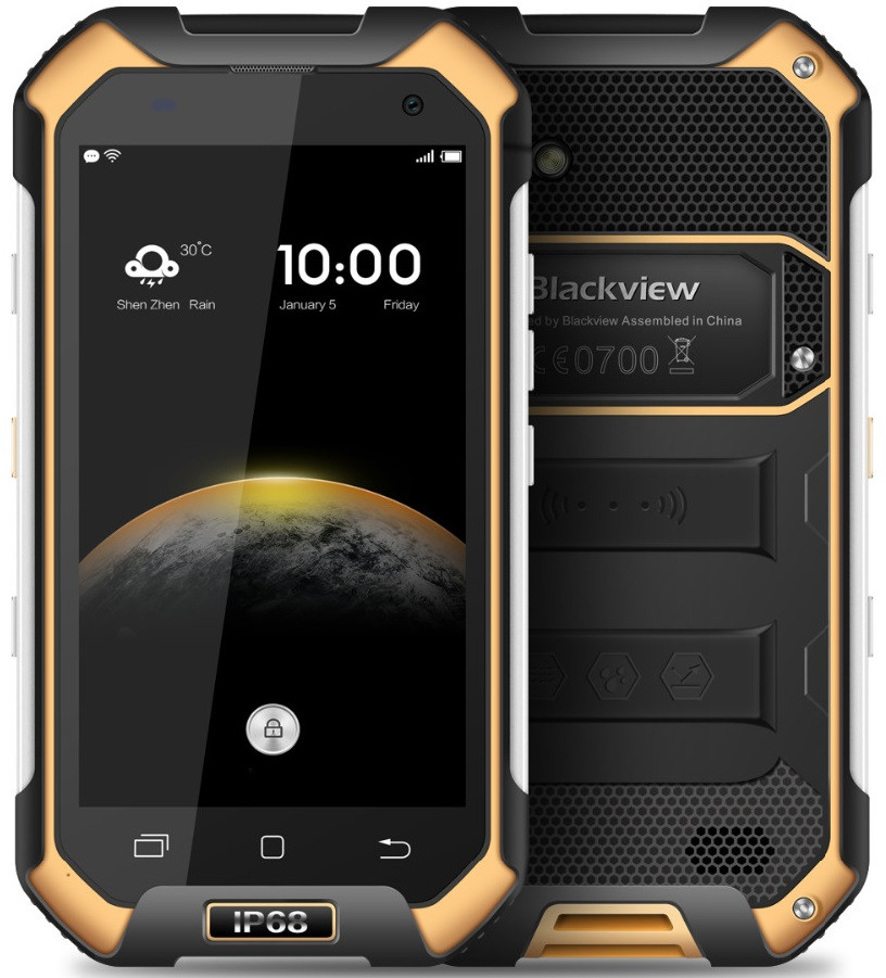 Blackview BV6000S 2/16 Gb black-yellow