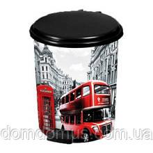 """Відро з педаллю """"London"""" 10 л Elif Plastik, Туреччина"""