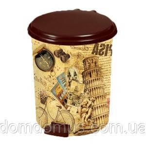 """Набор ведер с педалью """"Pisa"""" (6 л,10 л, 16 л)  Elif Plastik, Турция"""