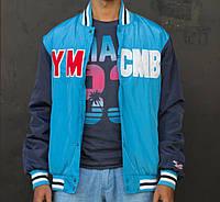 Голубая куртка-американка