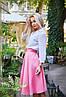 """Расклешенная женская миди-юбка из габардина """"Arizona"""" с завышенной талией (5 цветов), фото 4"""