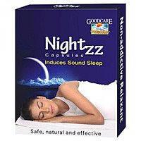 Таблетки  для здорового сна / Nightzz, Goodcare / 10 капс.
