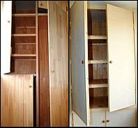 Изготовление встроенной мебели для балкона