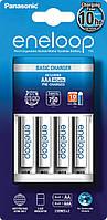 Зарядное устройство Panasonic Basic Charger New + Eneloop AAA/HR03 NI-MH 750 mAh BL 4 шт