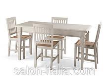 Стіл кухонний Agnese (Steel) - Стол кухонный
