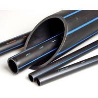 Труба водопроводная полиэтиленовая 25 чёрная PN6