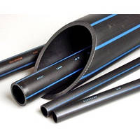 Труба водопроводная полиэтиленовая 50 чёрная PN6