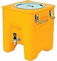 Термоконтейнер для напоїв з краном AVA PLASTIK WATERBOX 23 (Туреччина), фото 1