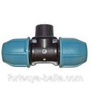 Тройник для полиэтиленовых труб 32*1*32 Н