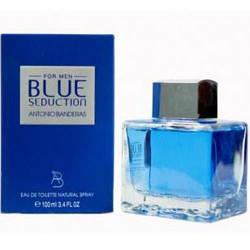 Мужская туалетная вода Antonio Banderas Seduction Blue for men , 100 мл