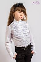 Шикарная блуза с кристаллом swarovski