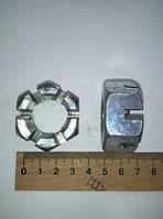 Гайка корончатая DIN 935 М 24 х 2 низкая (шт.)