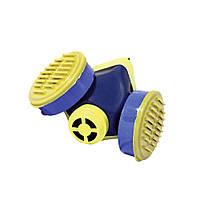 Респиратор Пульс К 2 картриджа (респиратор шахтный пылевой ) фильтр флизелин