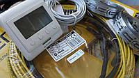 Тонкий кабель теплого пола в комплекте с (цифровым термостатом) 3.2 м.кв