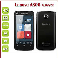 Lenovo A390 Smart Phone Android 4.0 MTK6577 1.2GHz 4.0 Inch IPS Screen 3G GPS