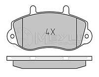 Тормозные колодки передние на Renault Master II  98->01 R15 —  Meyle (Германия) - MY0252330218