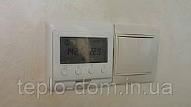 Терморегулятор для полов с подогревом  (датчик пола и воздуха)