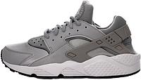 Женские кроссовки Nike Air Huarache (найк хуарачи) серые