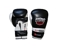 Перчатки боксёрские Power System  Boxing Gloves Target Black 12 oz
