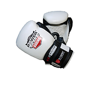 Боксёрские перчатки Power System Boxing Gloves Target White 12 OZ
