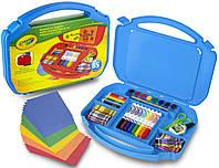 Набор для творчества в чемоданчике, Crayola, синий (04-2704-1)