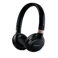 Наушники philips shb9250/00 mic black wireless