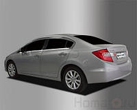 Хром молдинг стекла HONDA CIVIC 9