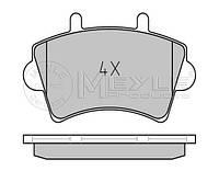 Тормозные колодки передние на Renault Master II 01->10 R16 —  Meyle (Германия) - MY0252361318