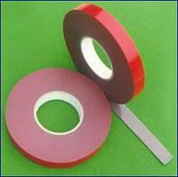 Двухсторонняя клейкая лента на пенной основе, 12мм х 2м х 0,5мм