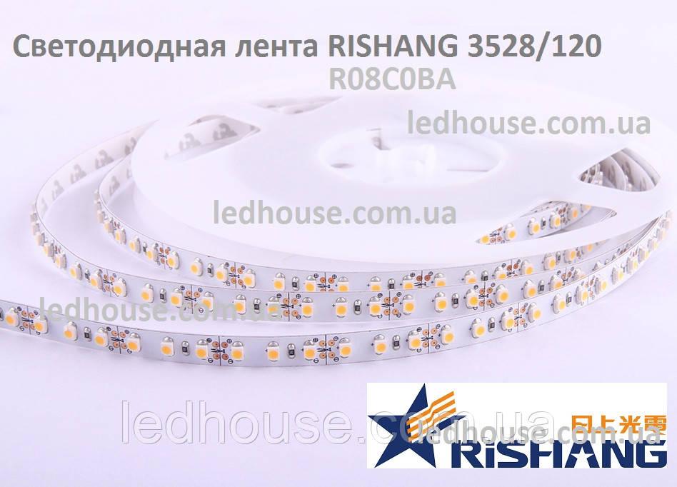 Светодиодная лента RISHANG 3528/120 IP33 8-Вт IP33 Белый (R08C0BA)