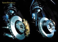 Замена передних тормозных дисков