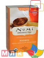 Numi Tea Органический травяной чай без кофеина, Ройбуш, 18 чайных пакетиков, 43,2 г