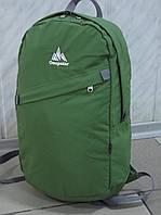 Легкий городской текстильный рюкзак ONE POLAR 1998 олива