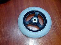 Литое колесо для инвалидной коляски Диаметр 150 мм тром 150 мм