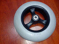 Литое колесо для инвалидной коляски Диаметром 200 мм
