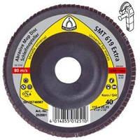 SMT 619 р80 Klingspor круг  шлифовальный лепестковый тарельчатый