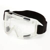 Очки защитные силиконовые с непрямой вентиляцией